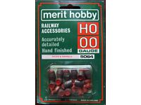 Merit Hobby OO/HO Gauge Railway Accessories - 5064 Sacks & Barrels