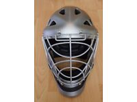 Grays G500 helmet – silver. Used in excellent condition