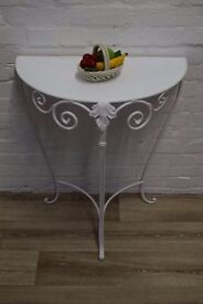 Half Moon Table (DELIVERY AVAILABLE)