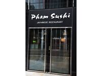 Experienced Sushi chef required