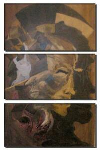 - ORIGINAL PAINTING / ARTWORK - Race