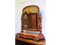Victorian Dressing Table Mirror (DELIVERY AVAILABLE)