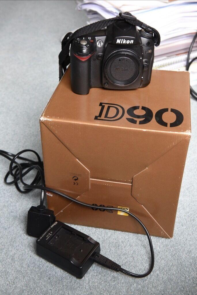 Nikon D90 DSLR DX body only
