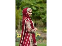 Asian Wedding Dress (Faraz Manan Piece)