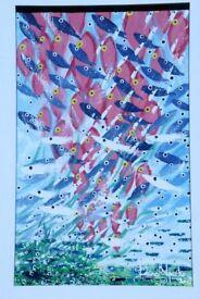 Original Artwork by Kobina Nyarko - Ghana's premier contemporary artist £5000 ono
