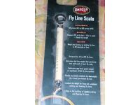 UMPQUA Fly Fishing Fly Line Scale for 1 to 13 Fly Lines, See Information, Histon