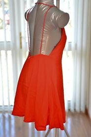 Motel red dress, brand new, only £5. Size XS