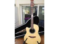 Left-Handed Ovation Celebrity guitar