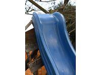 Blue Plastic Heavy Duty Slide for Climbing Frame