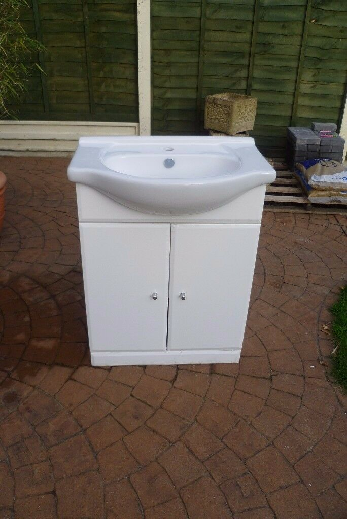 Basin with Vanity Unit.