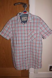 Boys Next Checked Shirt Age 14