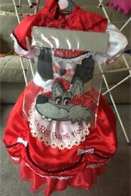 BRAND NEW Little Red Riding Hood Fancy Dress/ dressing up outfit + extras (Age 3-4 Years)