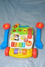 Baby walker with sound, songs, letters anjd numbers