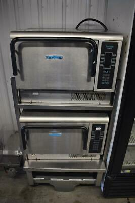 Set Of 2 Turbochef Tornado Ngc High Speed Convection Microwave Oven Works Great