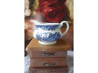 "Royal tudor ware Staffordshire ""Olde England"" jug"