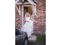 Wedding dress gorgeous sweet line next dimonty lace dress