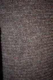 100% Wool Berber Carpet 4.5m x 4m (252)