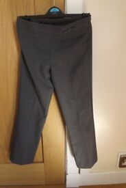 Girls Black School Trousers Age 6-7