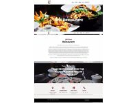 Restaurant Website with online order system (auto-print)