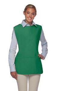 Daystar-Aprons-1-Style-400-two-pocket-cobbler-smock-aprons-Made-in-USA