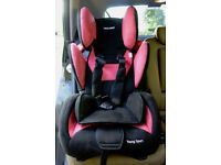 childs car seat,Recaro Young Sport Hero, 9months to 12 years, 9-36kg