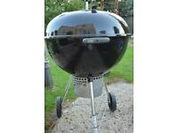 Weber 57cm One Touch Premium Charcoal BBQ - Immaculate condition