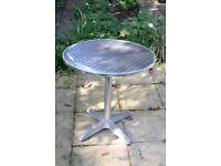 Aluminium Bistro round table