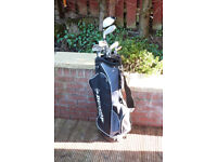 Full set of Golf clubs + bag + trolley