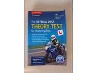 Official DVSA Theory Test for Motorcyclists Pass Book
