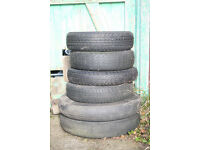 Old car tyres - use as garden planters, child's swing etc. FREE.