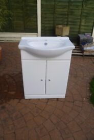 Basin with Vanity Unit. (SOLD)