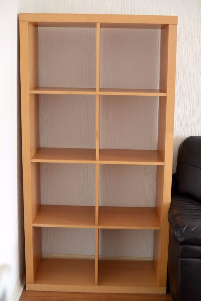 Ikea Kallax 8 Cube Storage Shelving Unit