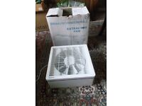 """Extractor Fan Manrose 300mm/12"""" for wall or window fitting"""