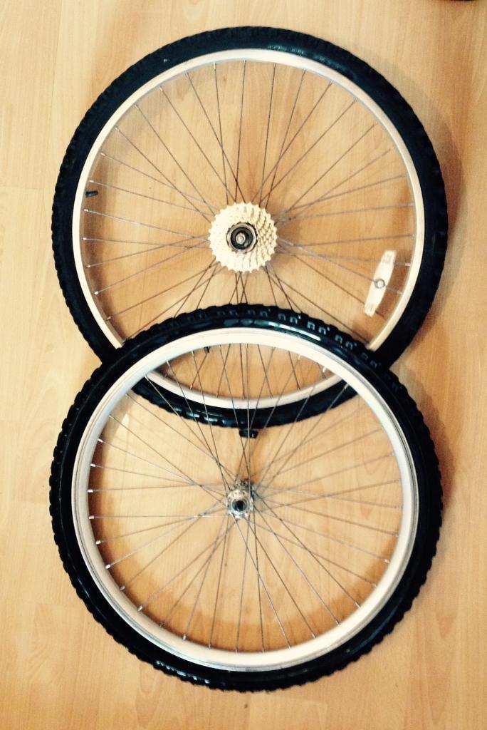 Bike wheels like new