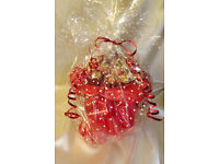 Ferrero Rocher Chocolate Bouquet - Sweet Hamper Tree Explosion - Perfect Gift/ Red /vase