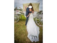 Ivory wedding dress size 8