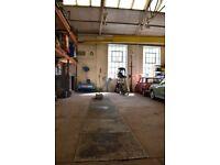 Classic Car Restoration workshop facilities for hire Devon