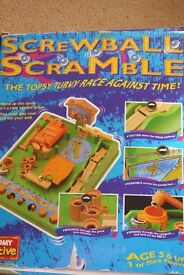 Tomy Active Screwball Scramble , The Topsy Turvey Race Against Time, Histon
