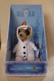 Oleg as Olaf Meerkat Frozen Toy MINT