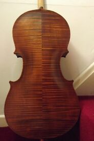 Beutiful hand made full size cello and case