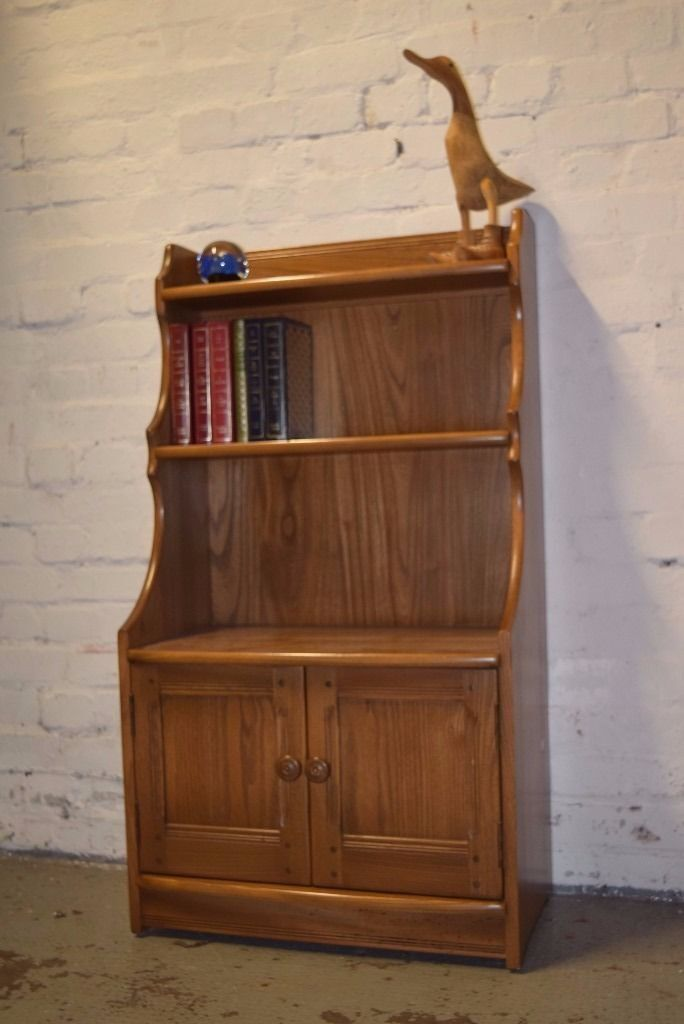 Ercol Waterfall Bookcase (DELIVERY AVAILABLEin West End, EdinburghGumtree - Excellent condition. Please Note This item is located in Falkirk for a viewing, Delivery available for Edinburgh. If you cant make it over for a viewing then we can deliver straight to your home, payment on delivery. Thankyou