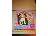 Sold - Sequin Craft - Dog