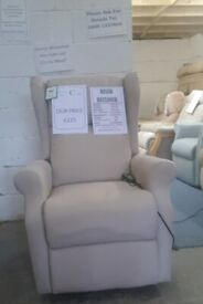 Electric Riser Recliner Rise and Recline Armchair, Delivery Possible