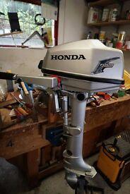 Honda Four Stroke 5Hp Outboard