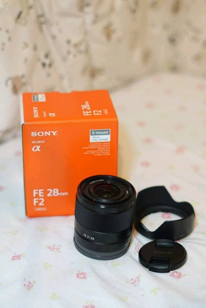 (Newly bought) Sony SEL28F20 FE 28mm f/2 Lens