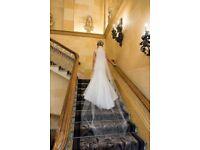 Embellished Wedding Wedding dress for sale veil NOT included