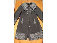 Ladies Coat – Size 14, Per Una, Speziale (Made in Italy), Italian Fabric