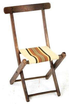 Vintage Child's Folding Chair - Free Shipping [PL4556]