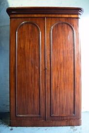 Victorian Mahogany Wardrobe (DELIVERY AVAILABLE)