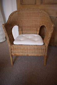 Chair - comfortable and very robust wicker chair
